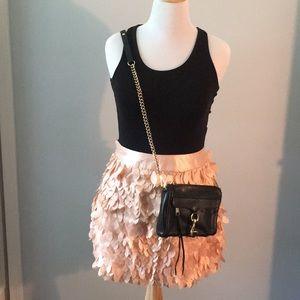 Kardashian Kollection petal miniskirt size Lg